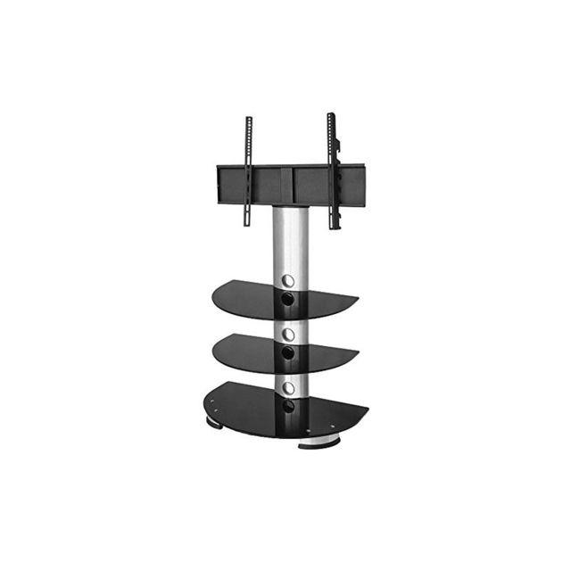 duronic tvs213bs meuble tv d pla able 3 tag res avec. Black Bedroom Furniture Sets. Home Design Ideas