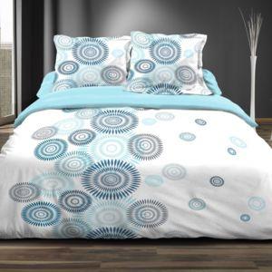 100pourcentcoton parure drap plat 240x300 cm drap. Black Bedroom Furniture Sets. Home Design Ideas