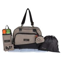 Baby On Board - Baby On Borad Sac a Langer Daily Premium Cappuccino