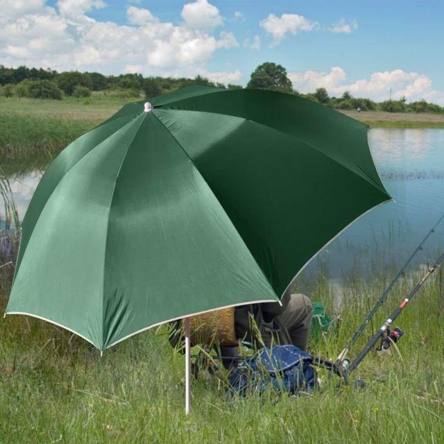 Hi Parapluie de pêche Vert Uv30 200 cm