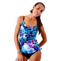 c4f8cb13f0 Sunplaya - Maillot de bain 2 Pièces Tankini Sun Playa Bleu