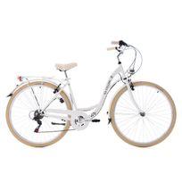 Ks Cycling - Vélo de ville 28'' Casino blanc Tc 54 cm