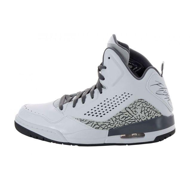 huge discount 2b288 398cb Nike - Basket Air Jordan Sc-3 Premium - 641444-100 - pas cher Achat   Vente  Baskets homme - RueDuCommerce