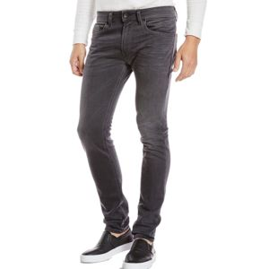 diesel en solde jean homme thommer 859x stretch slim skinny gris fonc d lav pas. Black Bedroom Furniture Sets. Home Design Ideas