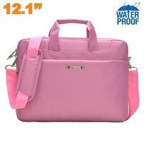 Yonis - Sacoche ordinateur portable 10 - 12.1 pouces étui Pc waterproof Rose