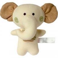 Mbw - Peluche éléphant hochet - 60307 Hauteur 16 cm environ
