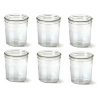 Le Parfait - Lot de 6 Confituriers 324 ml