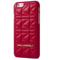 Karl Lagerfeld - Coque Kuilted Rouge Pour Apple Iphone 5/5s