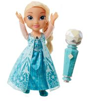 DISNEY - LA REINE DES NEIGES - Poupée Chante avec Elsa - 31078