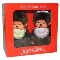 Monchhichi - 251360 - Pack Mon Kiki: Kiki Fille et Garçon Import Allemagne