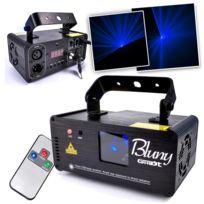 Ghost - Laser Bleu Light Mode Dmx + Télécommande