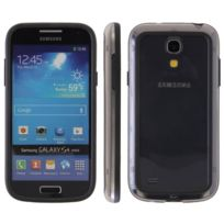 Ego Mobile - Bumber crystal et noir Samsung Galaxy S4 mini i9190