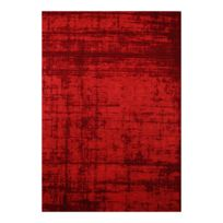 vivabita tapis tendance de salon rouge plat lounge - Tapis De Salon Rouge