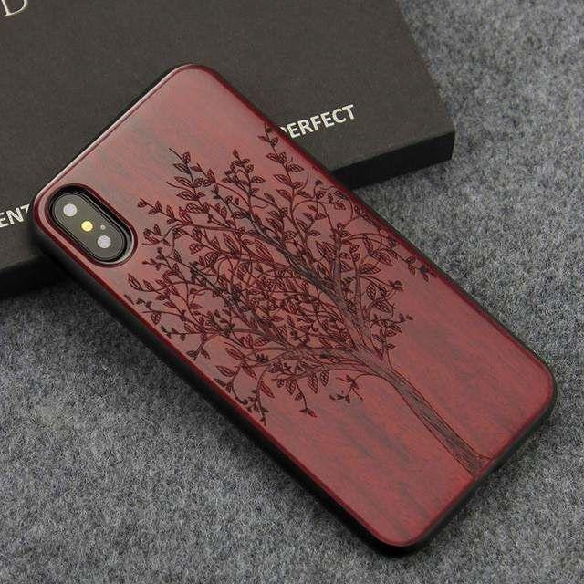 coque en bois iphone xr