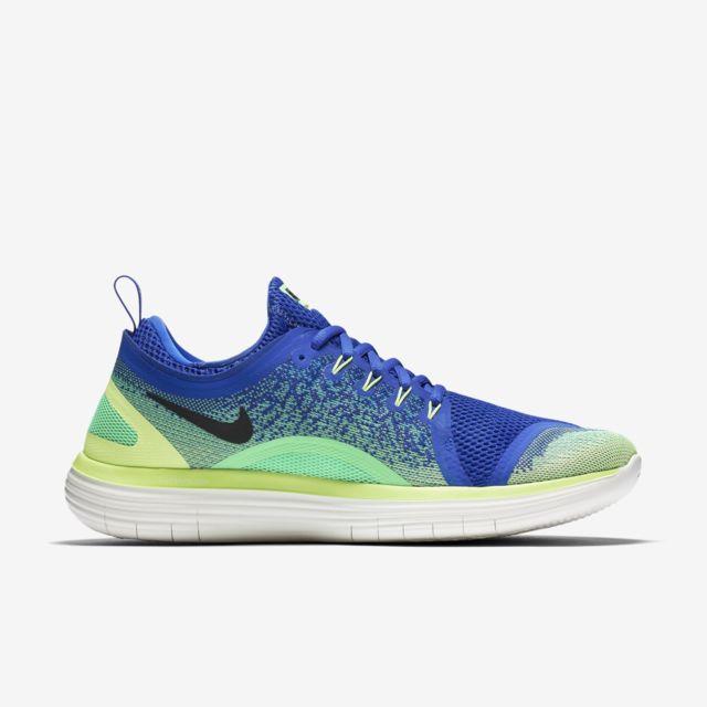 220c5e5b627 Nike - Free Rn Distance 2 Bleue Et Verte chaussure 42 1 2 - pas cher Achat    Vente Chaussures running - RueDuCommerce