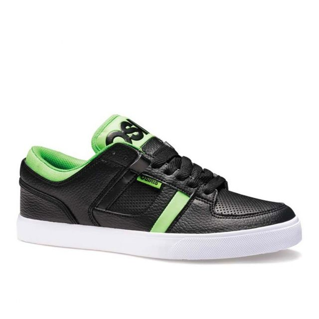 4b56bba947 Osiris - Basket Homme Osiris Ch2 Black green Eu42 9US Skate shoes vegan  Dernière paire !