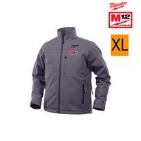 Milwaukee - Veste chauffante grise M12 Hj Grey3-0 taille Xl sans batterie ni chargeur 4933451594