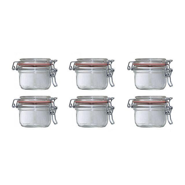 LE PARFAIT - lot de 6 bocaux à terrine 125g - 900511
