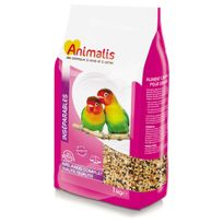 Animalis - Mélange de Graines pour Agapornis et Neophema - 1Kg