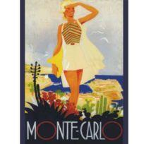 Editions Club Pom - Affiche rectangulaire Monaco