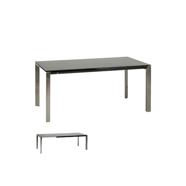Table à diner design 90x160x74cm Iskoli