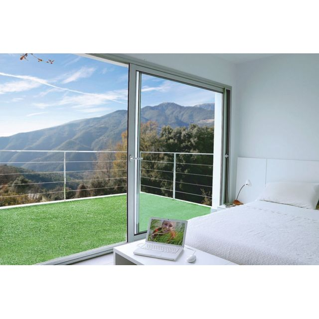NORTENE Gazon synthétique 7 mm pour terrasse ou balcon \