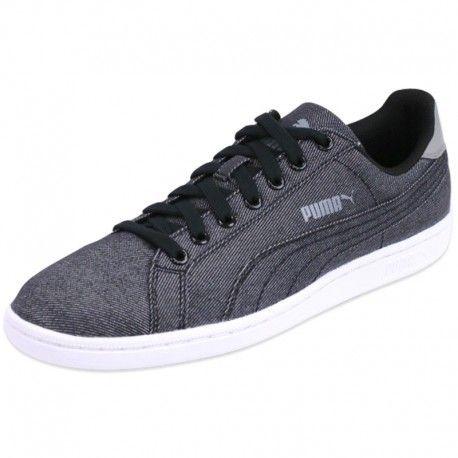 new style edf02 2e251 Puma - Smash Denim Blk - Chaussures Homme Puma
