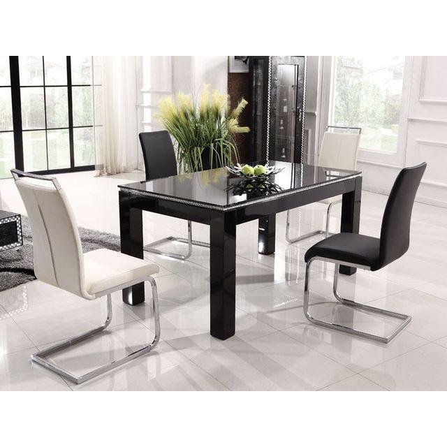 La Maison Du CanapÉ Table Nina - Noir