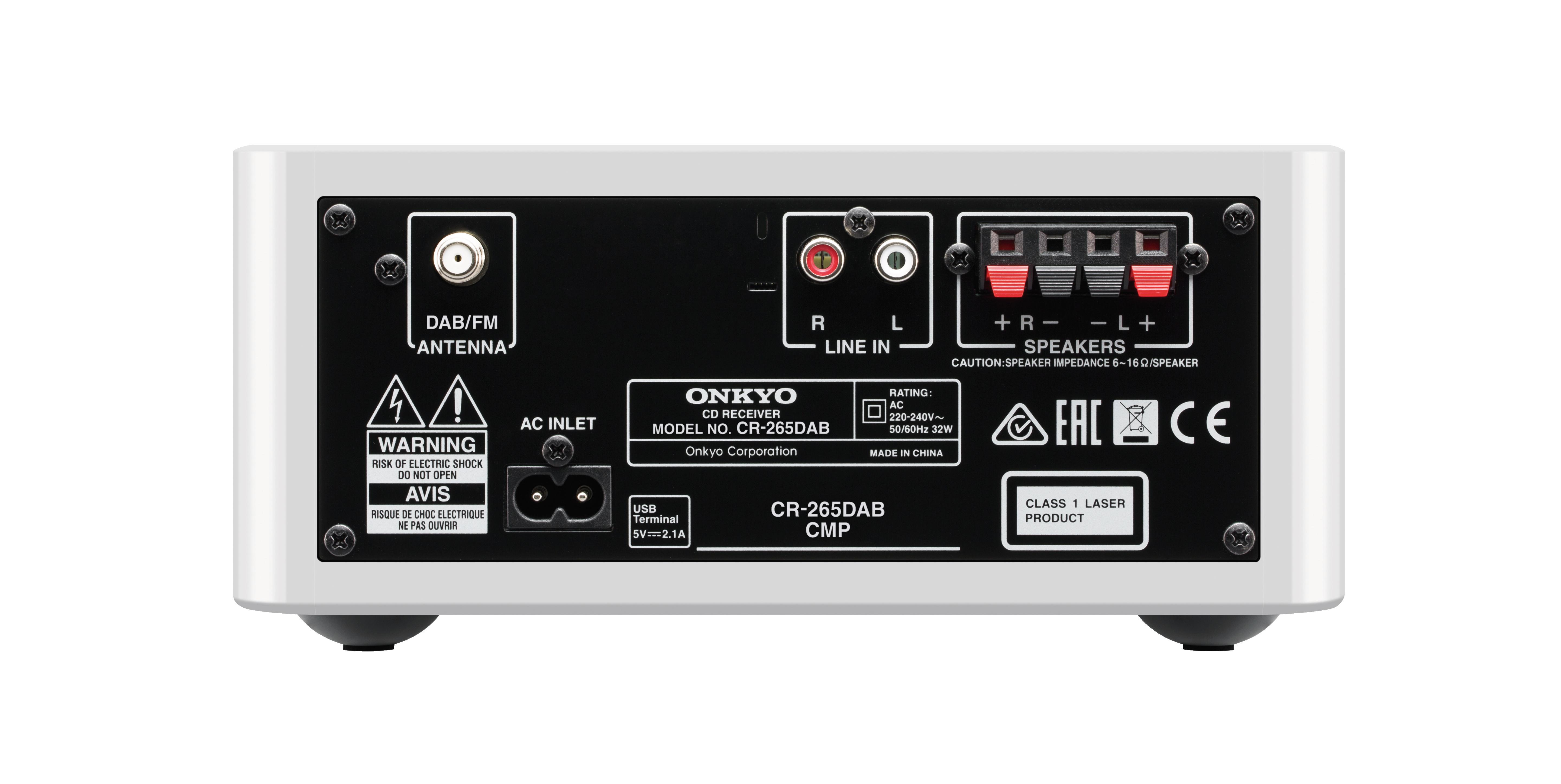 Micro chaine CD Hifi CS-265 noir