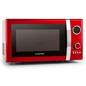 KLARSTEIN - Fine Dinesty Four micro-onde multifonction 23L 800W -rouge