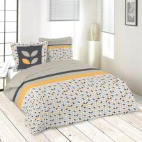 Lefebvre Textile - Parure de lit 220 x 240 cm Pepa