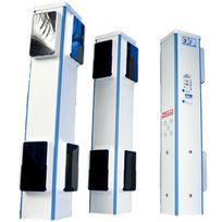 FIRST INNOV - dsp80-f3 - totalement sans fil ! alarme périmétrique 3 bornes Prima Protect