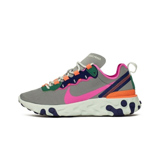 the best attitude detailed pictures best choice Nike - W React Element 55 - pas cher Achat / Vente Baskets femme ...
