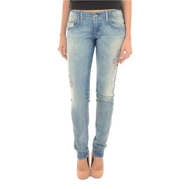 Diesel - Grupee 808G - pas cher Achat   Vente Jeans femme - RueDuCommerce f68c4be3f1af