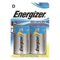 Energizer - Pile D - Lr20 Eco Advanced - Blister de 2 piles