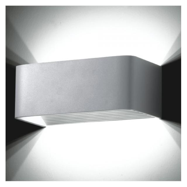 Kosilum Applique Murale Led Design Quadra 6w 20cm En Soldes