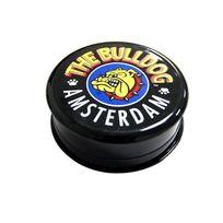 The Bulldog - Grinder noir en plastique 3 parts