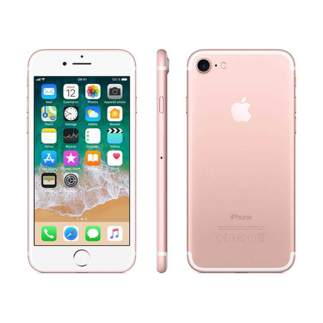 apple iphone 7 128 go mn952zd a or rose pas cher achat vente iphone ios rueducommerce. Black Bedroom Furniture Sets. Home Design Ideas