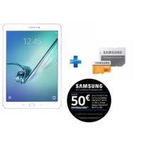 Galaxy Tab S2 - 9,7'' - 32 Go - 4G - Blanc + Carte Micro SDXC EVO - 32 Go - MP32GA/EU