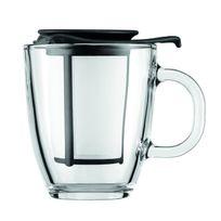 YO-YO SET Set mug en verre, filtre en nylon, 0.35 l