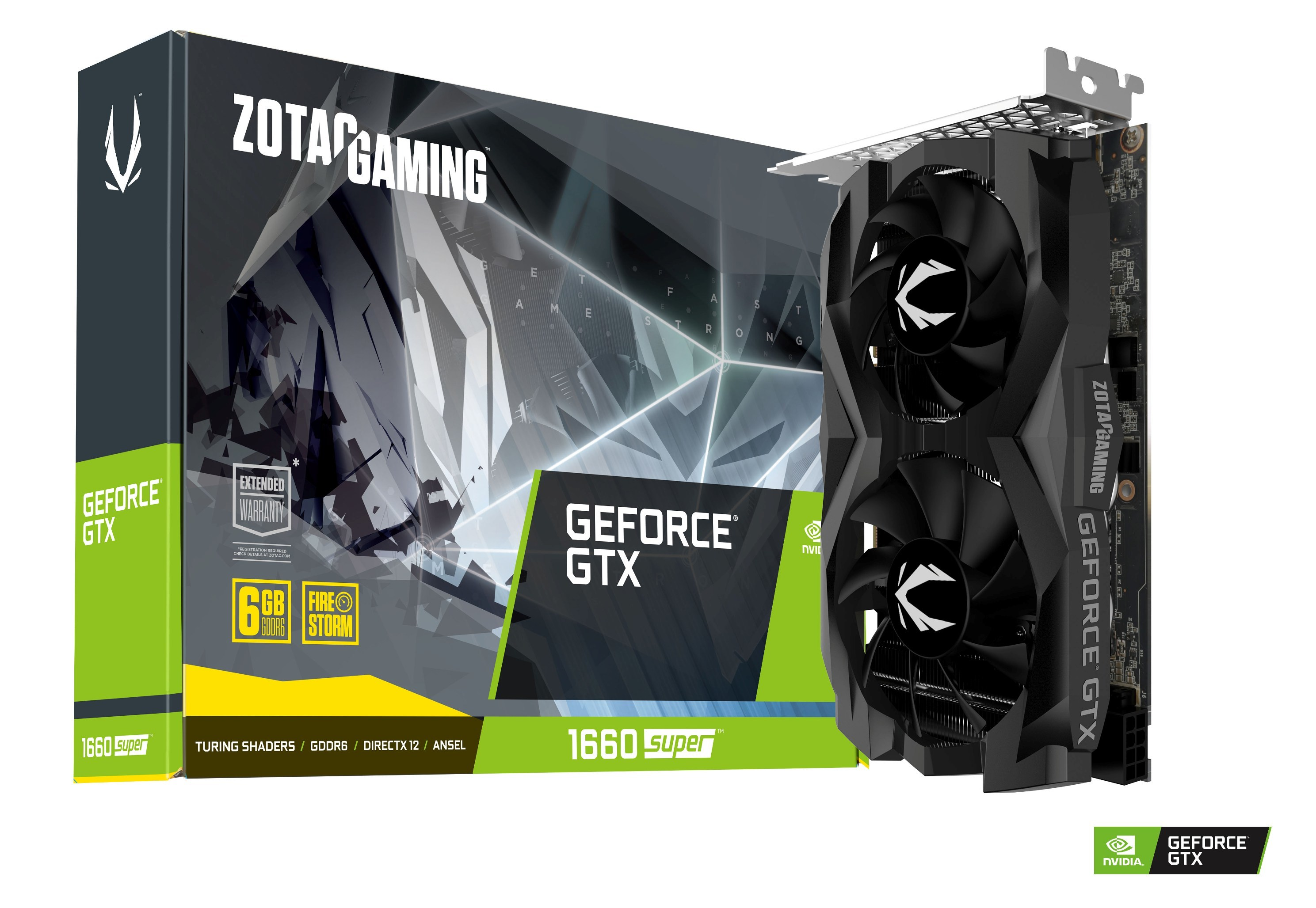 Geforce GTX 1660 Super - TWIN FAN - 6 Go