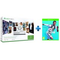 Console Xbox One S 1 TO 3 mois Live 3 mois Game Pass + Fifa 19 - Jeu Xbox One