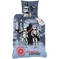 Star Wars - Housse de couette Dark Side 140x200 + taie 63x63 enfant 100 % coton
