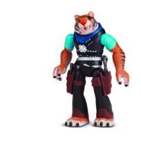 TORTUES NINJA - Mutation Figurine 12 cm Mix N' Match Tiger Claw - 5584