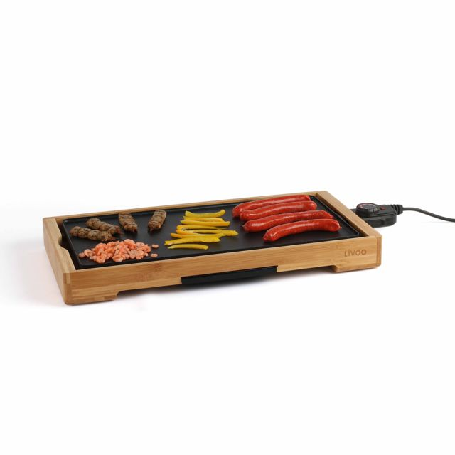 LIVOO Plancha gril bambou - DOC202