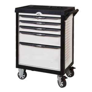 ks tools servante pearl line blanche 5 tiroirs pas cher achat vente servante. Black Bedroom Furniture Sets. Home Design Ideas