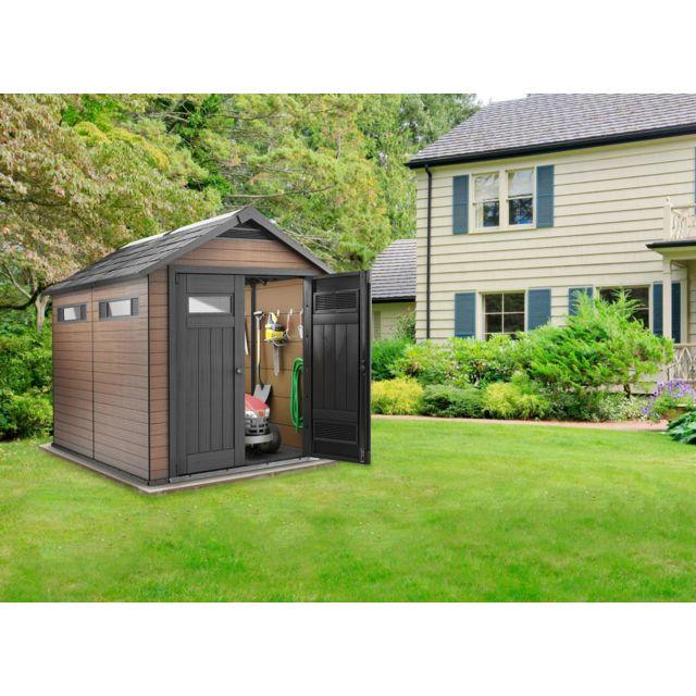 abri de jardin en resine oakland 759 KETER - Abri de jardin PVC Fusion 759 - 6,57 m²