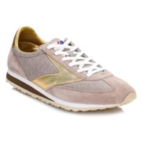 Brooks - Womens Sand/Gold Vanguard Trainers-UK 7