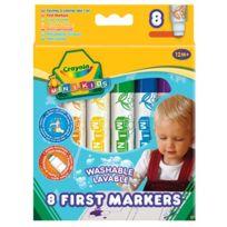 Crayola - 8 Feutres Babies Mini Kid