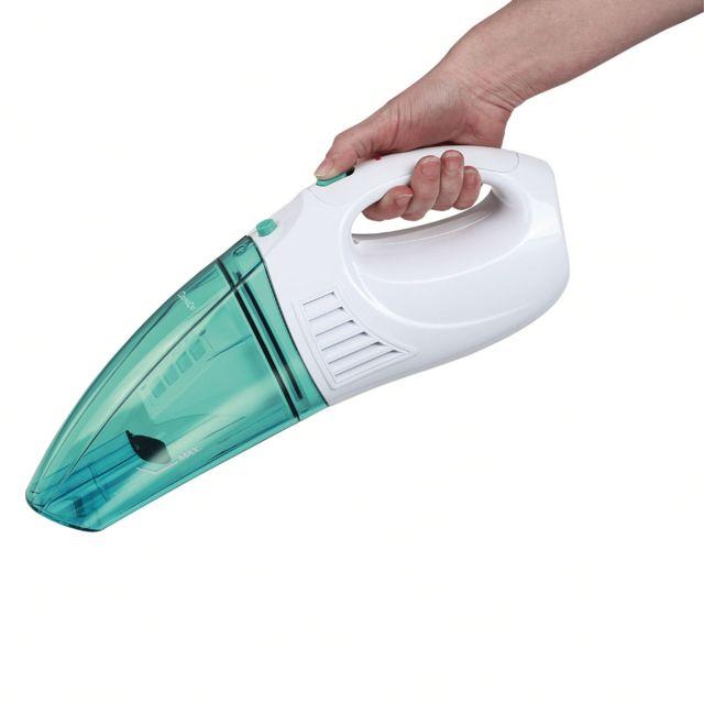 DOMOCLIP Aspirateur à main eau et poussières blanc vert DOH109V